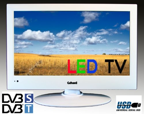 led fernseher tv 19 zoll 48 cm gelhard gxt 1928 sat dvb s dvb t usb 230v 12volt plasma fernseher. Black Bedroom Furniture Sets. Home Design Ideas