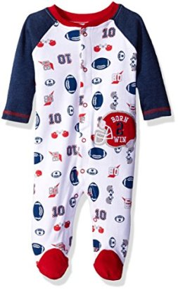 BON-BEBE-Baby-Boys-Footed-Coverall-with-Applique