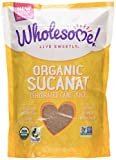 Wholesome Sweeteners, Inc., Organic Sucanat, Dehydrated Cane Juice, 1 lb (454 g)