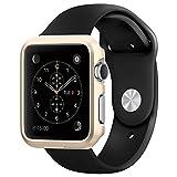 Apple Watch ケース, Spigen? [パーフェクト-フィット] シン・フィット アップル ウォッチ (42mm) 【国内正規品】(2015) (シャンパン・ゴールド【SGP11501】)