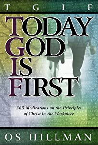 "Cover of ""TGIF: Today God is First: 365 M..."