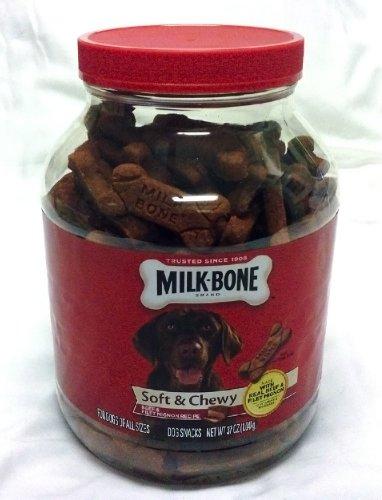 Milk Bone Soft Chewy Dog Snacks Beef Filet Mignon