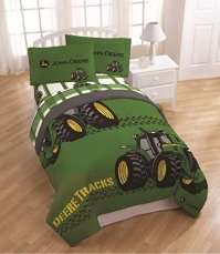 John Deere Bedding For a Farm Themed Bed