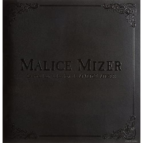 "La Meilleur Selection de MALICE MIZER""ベスト・セレクション"""