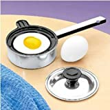 Individual Single Egg Poacher Non Stick Aluminum with Cover