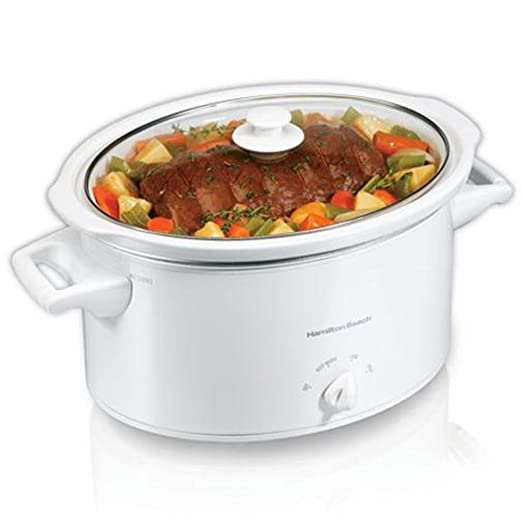 Hamilton Beach 33181 Slow Cooker, 8-Quart