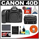 Canon EOS 40D 10.1-Megapixel Digital SLR Camera Body with 8GB CF