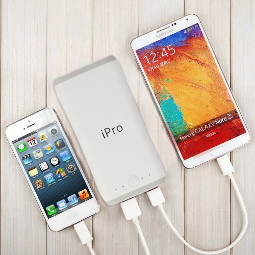 iPro 20800mAh powerbank for Tablets and Smartphones-Grey