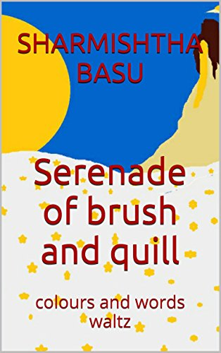 Serenade of brush and quill: colours and words waltz