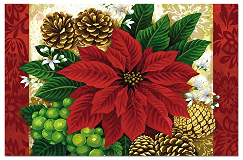 french country sofa fabric blue velvet chairs poinsettia table placemats   christmas wikii