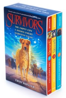 Survivors Box Set: Volumes 1 to 3 by Erin Hunter| wearewordnerds.com