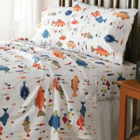 Fish Bedding & Fishing Themed Bedding