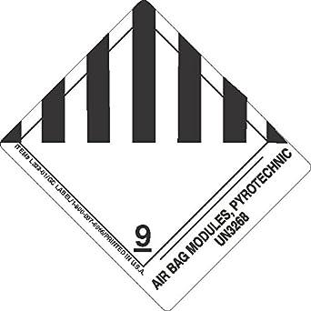 GC Labels-L322P06, Air Bag Modules, pyrotechnic UN3268