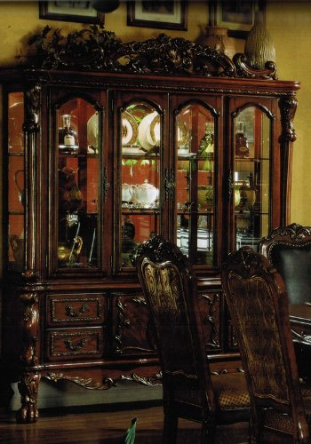 Buy Low Price Acme Furniture China Cabinet Buffet Hutch In