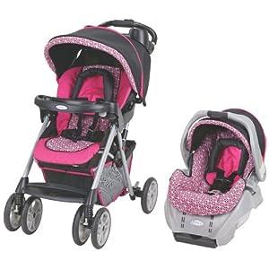 Baby Stroller: GRACO Alano Travel System-ASIN: B002RL7URG