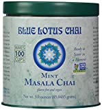 Blue Lotus Mint Masala Chai - 3oz Tin (100 cups)