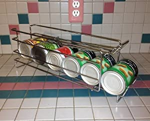 Amazoncom I10direct Fifo Food Storage Can Organizer Rack