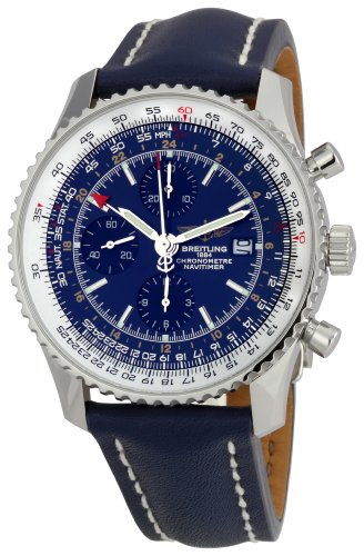 Breitling Men's A2432212/C651-102X Navitimer World Blue Dial Watch
