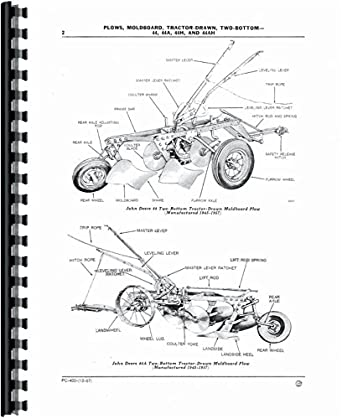 John Deere 44AH Plow Parts Manual: Amazon.com: Industrial