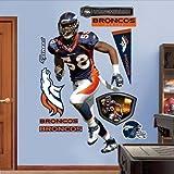 Amazing Fathead Denver Broncos Von Miller Wall Decals by Amazing Fathead Denver Broncos Von Miller Wall Dec [並行輸入品]