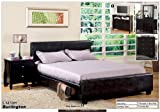 NEW California Cal King Size Espresso Platform Bed w/ 6 Drawers