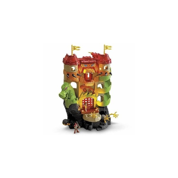 Imaginext Dragon World Fortress Castle Playset Popscreen