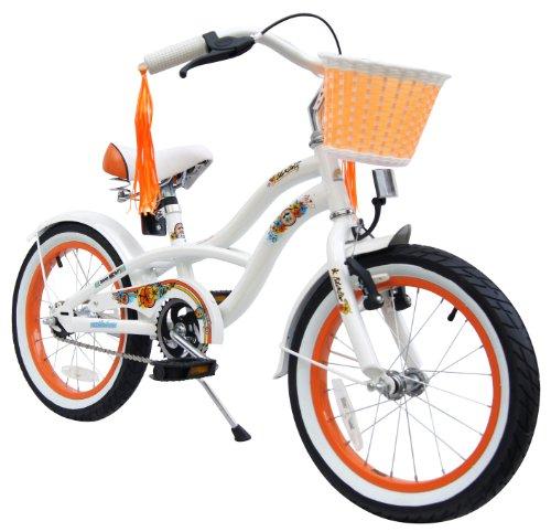 bike star 16 inch kids children girls bike. Black Bedroom Furniture Sets. Home Design Ideas