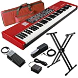 Nord Electro 3 HP Keyboard BUNDLE w/ Carrying Bag, Stand & Pedals