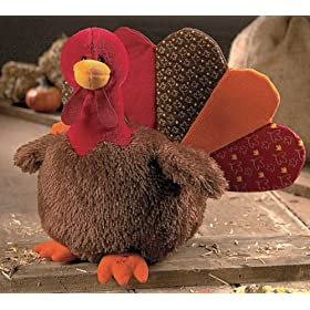 Gund Fun Gund Fun Gobbles Thanksgiving Hoedown Musical Turkey Doll