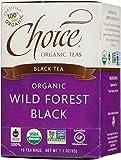 Choice Organic Teas Wild Forest Black Tea, 16 Count Tea Bags