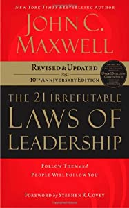 "Cover of ""The 21 Irrefutable Laws of Lead..."