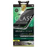 Simplism iPhone7 Plus フィルム [FLEX 3D] 立体成型フレームガラスフィルム ブラック TR-GLIP165-F3CCBK