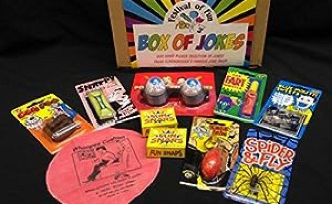 Box Of Jokes Small Prankster Set Stocking Fillers