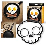 Official Fred & Friends Funny Side up Egg Mould Skull