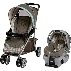 Graco Dynamo Lite LX Travel System, Soho Square