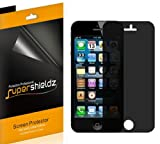 SUPERSHIELDZ- Privacy Anti-Spy Screen Protector Shield For iPhone 5S / iPhone 5C / iPhone 5 [2 Pack] + Lifetime Replacements Warranty - Retail Packaging