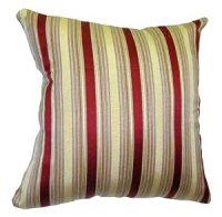 Amazon.com: 24x24 Burgundy and Gold Stripes Brocade ...