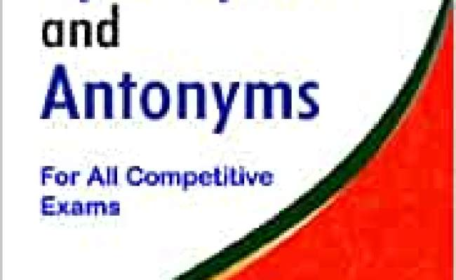 Buy Dictionary Of Synonyms And Antonyms For All