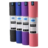 Heart-Centered-Yoga-Mat-Non-Slip-Eco-friendly-and-Non-Toxic-Memory-Foam-Made-Extra-Thick-Durable-and-Long-24-x-72-x-14-Carrying-Strap-Included