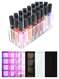 Acrylic Lip Gloss Organizer & Beauty Care Holder Provides ...