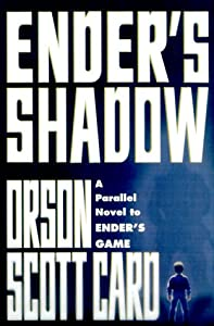 """Cover of """"Ender's Shadow"""""""