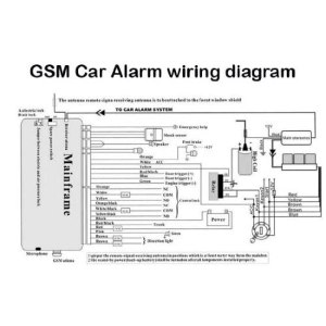 Amazon: CAR ALARM WIRING DIAGRAMS,COLOR AND INSTALL