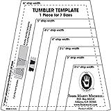 Amazon.com: The Lil' Crumbler Tumbler Quilting Template