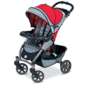 Britax Chaperone Stroller, Red Mill