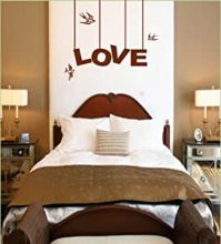 Amazon.com: Vinyl Wall Art Decal Sticker Love Hanging Sign ...