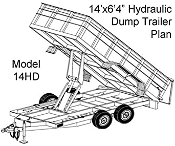 Amazon.com: Blueprints For Hydraulic Dump Trailer- Tandem