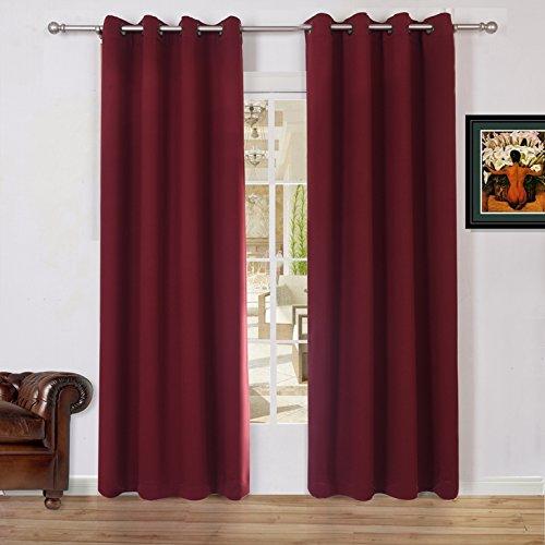 Lullabi Solid Thermal Blackout Window Curtain Drapery