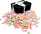 NECCO Classic Sweethearts Conversation Hearts, 3 lb Bag in a Gift Box