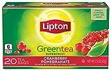 Lipton Green Tea, Cranberry Pomegranate 20 ct