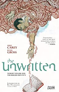 """Cover of """"Unwritten Vol. 1: Tommy Taylor ..."""